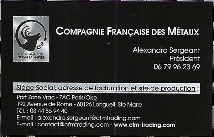 Alexandra Sergeant fondatrice de CFM Trading