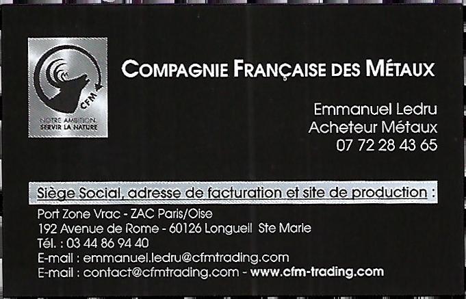 Franck Simon directeur commercial de CFM Trading